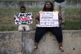 Manifestação contra violência policial, EUA