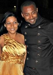 Gilyto e esposa Janine