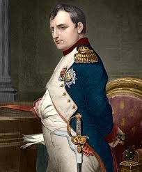 Napoleão Bonaparte, imperador francês. wikipédia