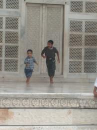 Crianças - Taj Mahal