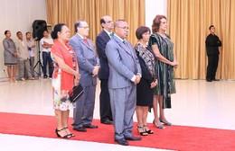 Os novos embaixadores