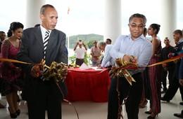 Inaugurasaun edifísiu Prinsipal CNE - Timor-Leste
