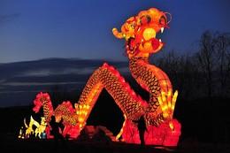 Festival em Shenyang, Liaoning, China