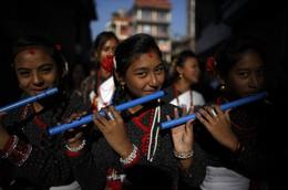 Ano Novo pelos Neuaris, Nepal