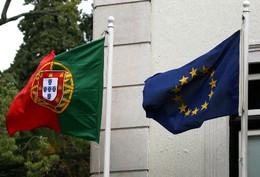 Bandeiras Portugal UE