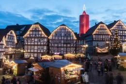 Luzes de Natal 2016 em Schlitz, Alemanha