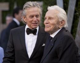 Pai e filho, Kirk e Michael Douglas