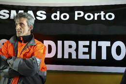 PORTUGAL PLENÁRIO DE TRABALHADORES DA ÁGUAS DO P