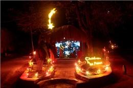 Presépios e Árvore de Natal 2013 em Díli