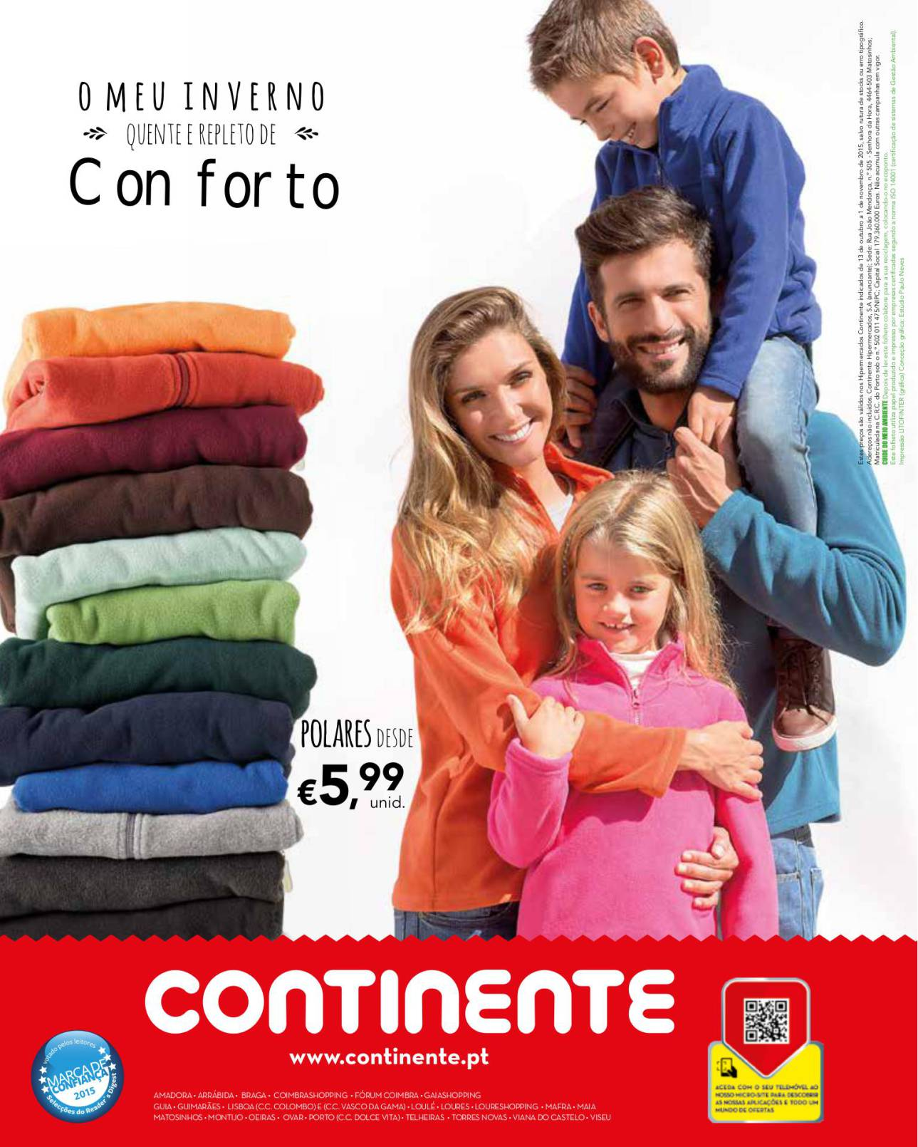 Antevisão folheto Continente especial Moda