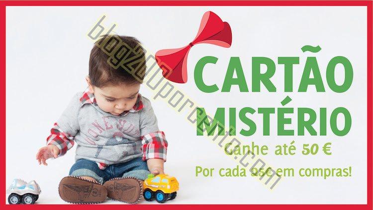 Cartão Mistério KID TO KID ganhe até 50€ por