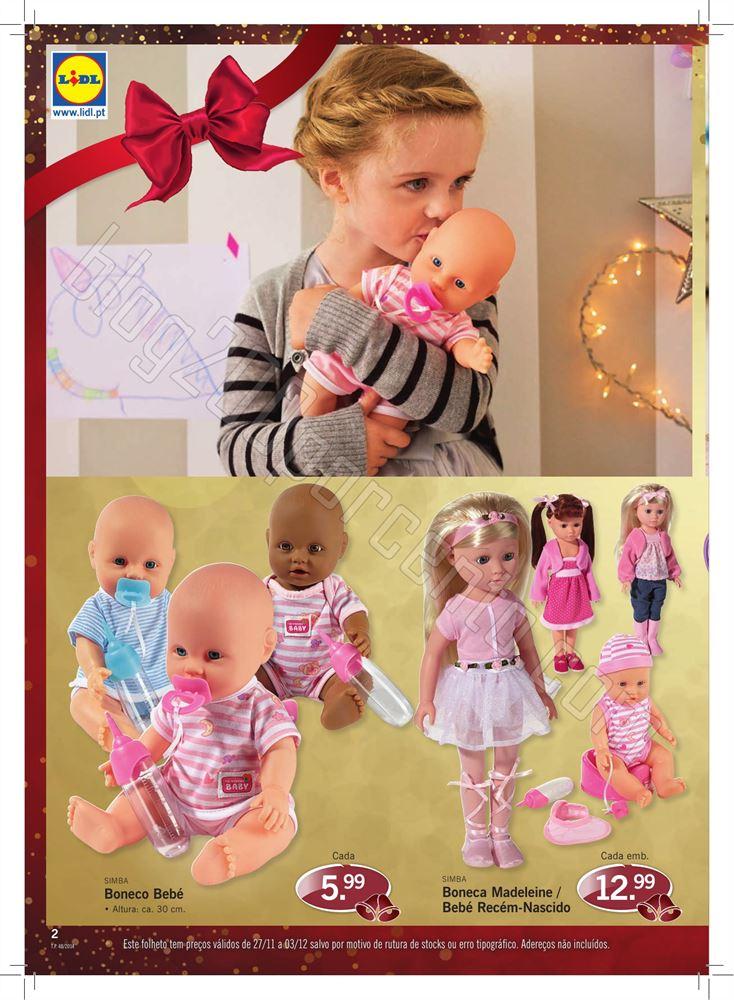 Antevisão Folheto LIDL Presentes Natal de 27 nove