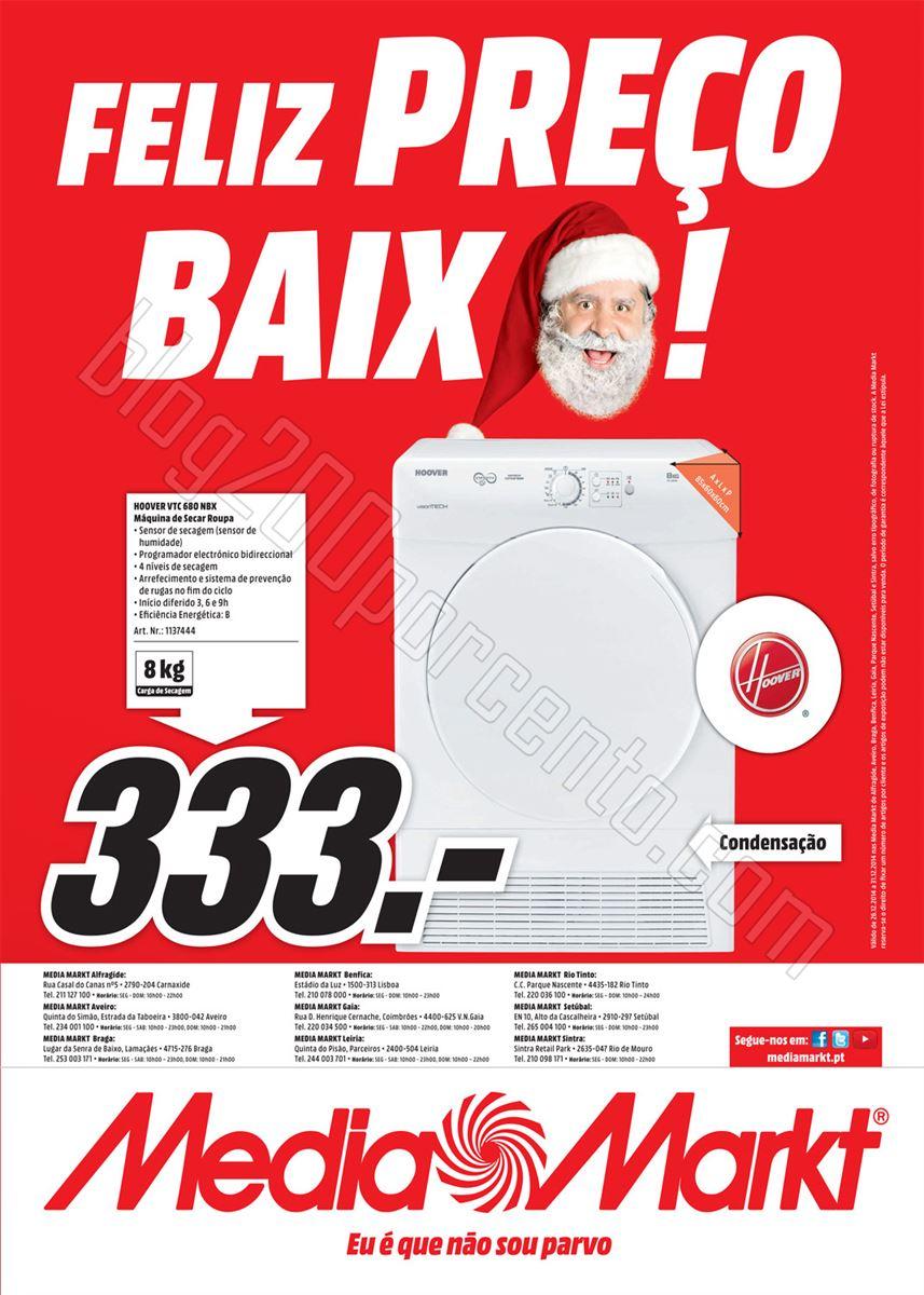 Antevisão Folheto MEDIAMARKT de 26 a 31 dezembro