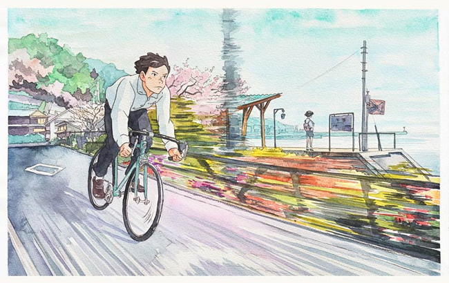 Bicycle Boy in Japan