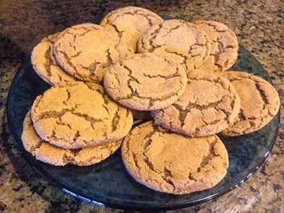 Ginger cookies (30-09-15)