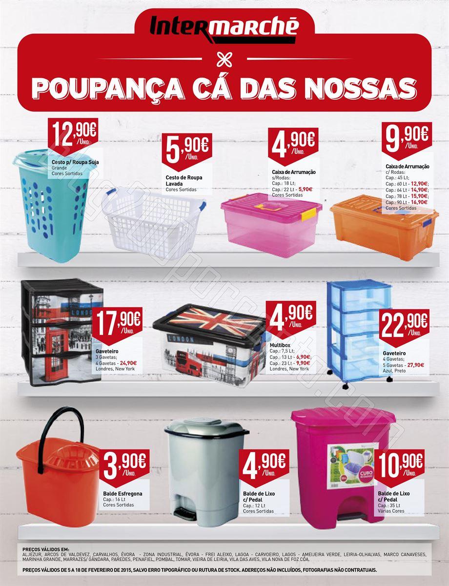 Antevisão Folheto INTERMARCHÉ Plásticos de 5 a