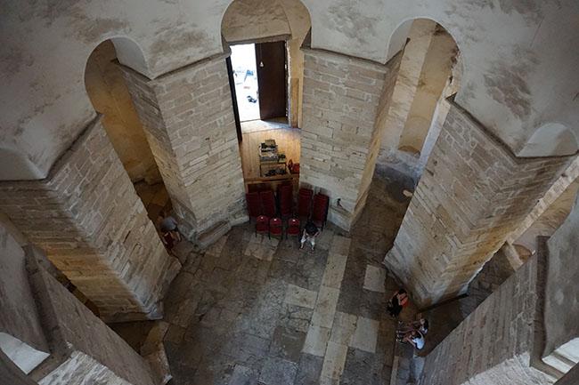 Byzantine St Donat's Church_inner_zadar