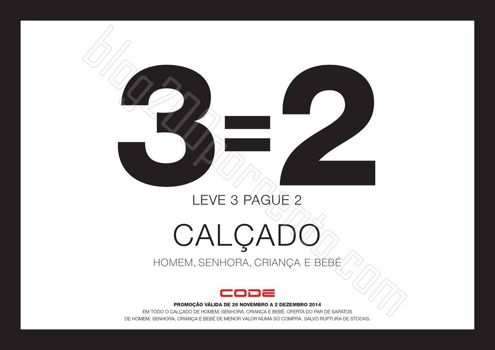 Leve 3 Pague 2 CODE - PINGO DOCE até 2 dezembro.j