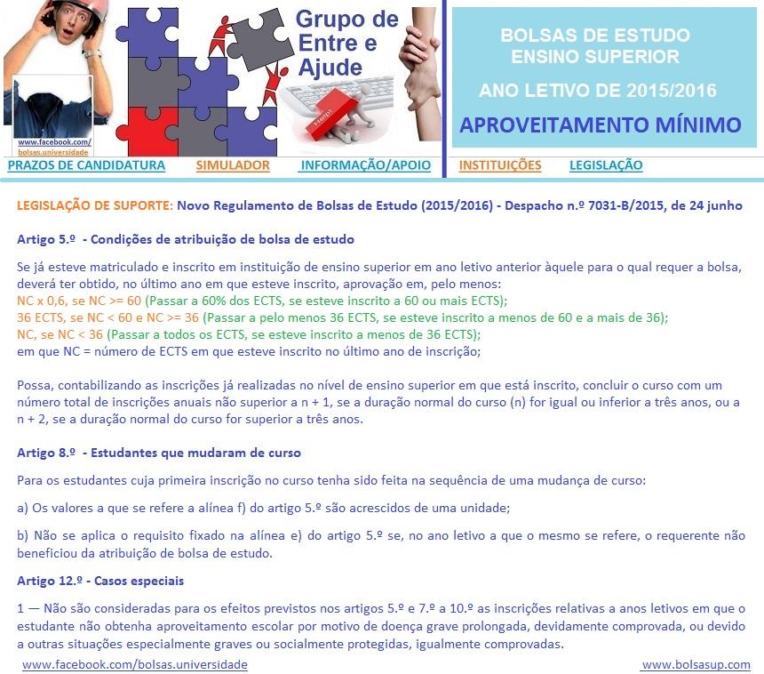 Bolsas de Estudo_Ensino Superior_2015_2016_APROVEI