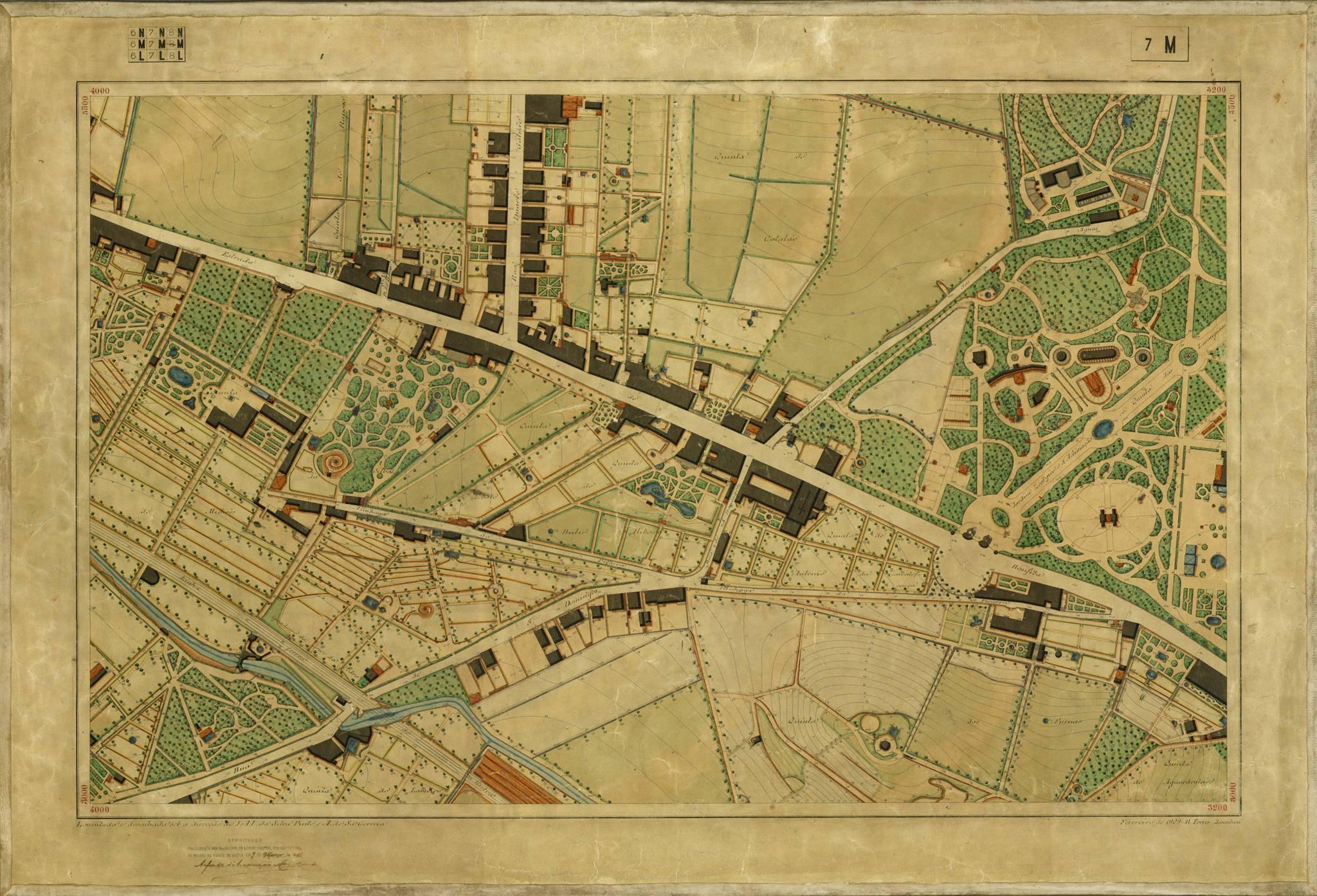 Carta 7M, Levantamento da Planta de Lisboa (1904-11)