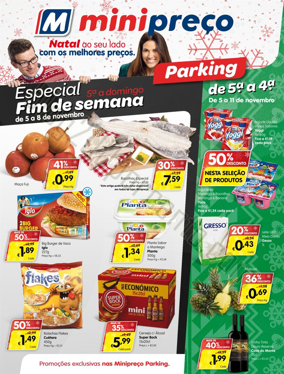 Antevisão folheto MINIPREÇO Parking promoções