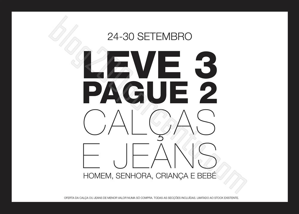 Leve 3 Pague 2 CODE - PINGO DOCE de 24 a 30 setembro
