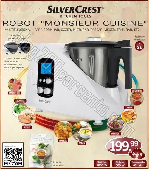 Novidade maquina cozinha lidl silver crest monsieur - Robot de cocina monsieur cuisine plus ...