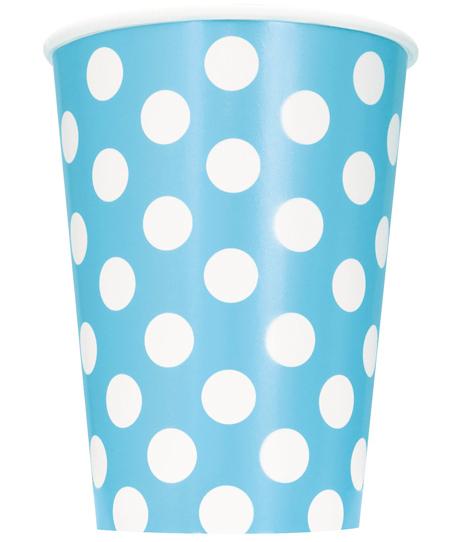 nap04237-powder-blue-polka-dot-12oz-paper-cup-pk6-