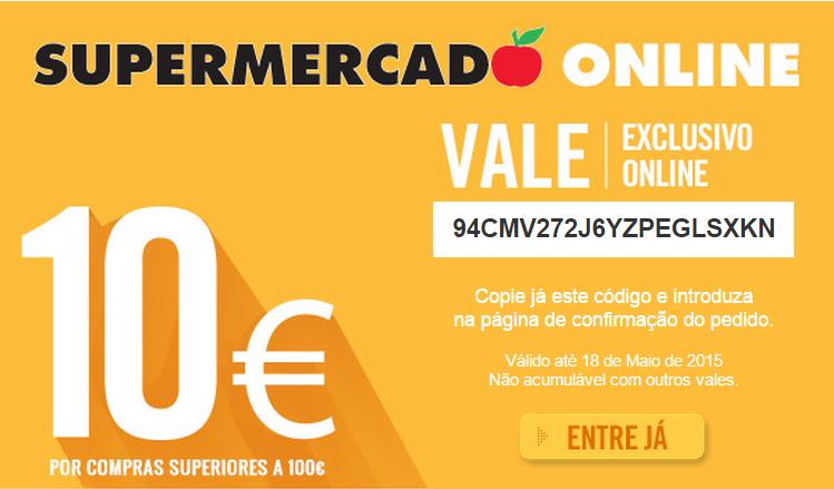 Promo - Corte Inglês - Vale de 10 Euros em compras Online -  Até 18 de Maio - 18389231_GJQ3a
