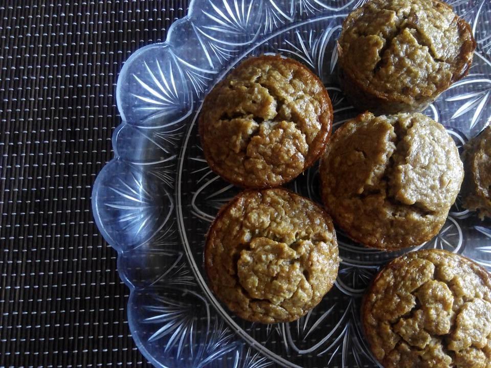 Receitas | Maria das Palavras: Muffins de banana e aveia
