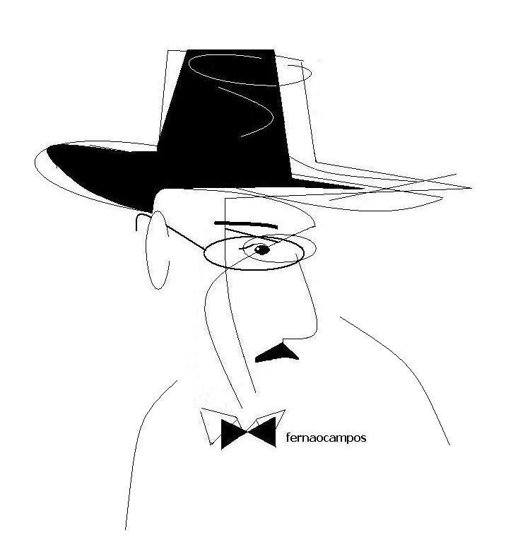 Fernando Pessoa _caricatura1